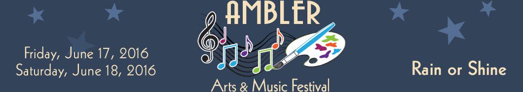 Ambler Fest header image